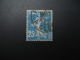 Perforé  Perfin  Référence Ancoper France  : SM149 - France