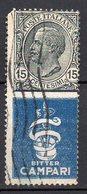 1924 Regno Pubblicitario Nuovo N. 1 Bitter Campari Timbrato Used - Publicité