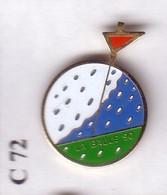 C72 Pin's GOLF LA BAULE La Baule-Escoublac Loire-Atlantique Achat Immédiat - Golf