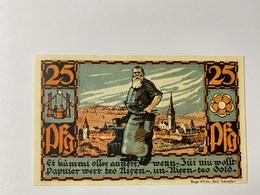 Allemagne Notgeld Salzufen 25 Pfennig - Collections