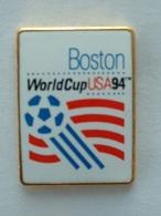 Pin's FOOTBALL - WORLD CUP USA 94 - BOSTON - Calcio
