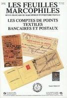 LescComptes De Points Textiles Bancaires Et Postaux - Philatélie Et Histoire Postale