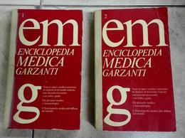 Enciclopedia Medica Garzanti 2 Volumi 2° Edizione Stampa 1976 - Médecine, Biologie, Chimie