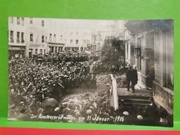 Zur Kammereroffnung Am 11 Januar 1916. Th. Wirol - Cartes Postales