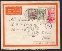 Libia, Busta Da Zuara Marina Del 1940 Per Viterbo           -CL34 - Libia