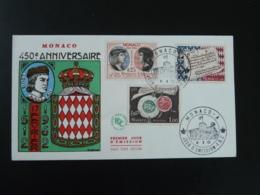 FDC 450eme Anniversaire Roi King Louis XII Medieval Monaco 1962 (ex 2) - FDC