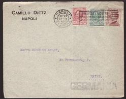 Regno, 85 Centesimi Michetti Su Busta Per La Germania Del 1923                -CL47 - 1900-44 Victor Emmanuel III