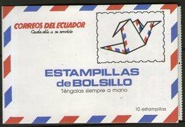 EQUATEUR: Carnet Avec N°1216 ** X10ex. ! - Ecuador