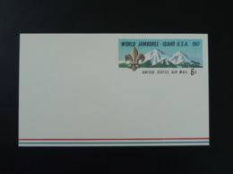 Entier Postal Stationery Card Scout World Jamboree USA 1967 - Padvinderij