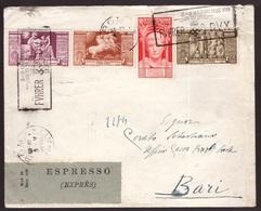 Regno, Busta Per Espresso Del 1938 Con Affrancatura Multipla            -CL31 - 1900-44 Vittorio Emanuele III