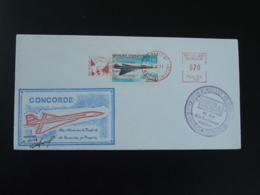 Lettre Cover Concorde Oblit. EMA Institut Prévoyance Industries Aéronautiques Paris 1971 - Concorde