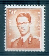 BELGIE Boudewijn Bril * Nr 1074 P3a * Postfris Xx * FLUOR  PAPIER - 1953-1972 Occhiali