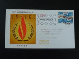 FDC Ed. Arthrodont UNESCO Monaco 1971 - FDC