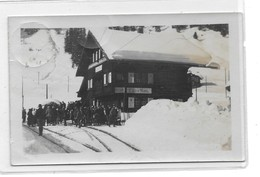 Chur-Arosa-Bahn - Station Litzirüti - GR Grisons
