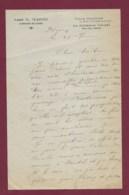 260220 - MILITARIA Courrier Aumonier Militaire Abbé G MAGNE Villa Charlise 11 Rue Buisson LA GARENNE Seine CAHORS MONTAL - Dokumente