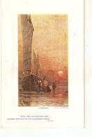 """A. Cordingley. Sundown"" Tuck Oilette Platemarked Ser. PC # 9735 - Tuck, Raphael"