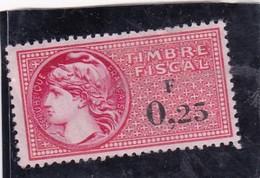 T.F.S.U N°364 - Revenue Stamps