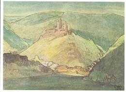 Luxembourg  -  Brandenbourg  1937 - Edit.Edouard Kutter  -  Sosthène Weis 1872- 1941 - Cartoline