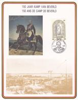 Feuillet 2003 1501 Ans Du Camp De Beverlo Léopoldsburg - Cartas