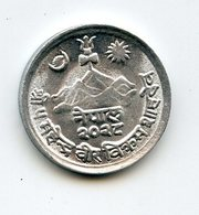Nepal 1 Paisa 1969. Flora Flower - Népal