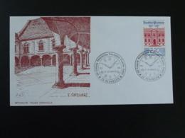 Lettre Cover Oblit. Horlogerie Congrès Philatélique Bourgogne Franche Comté Besancon 25 Doubs 1987 - Horlogerie