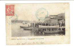BUREAU FRANCAIS A L'ETRANGER - LEVANT - CàD DARDANELLES TURQUIE 23 JUILLET 1908 BLEUE - Postmark Collection (Covers)