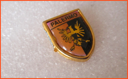 Distintivo Palermo Spilla Pins Italy Simbolo - Calcio