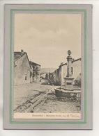 CPA - (55) - BUXERULLES - Carte Allemande De 1915 - Aspect De La Fontaine Et De La Rue De Montsec - Feldpost - Frankrijk