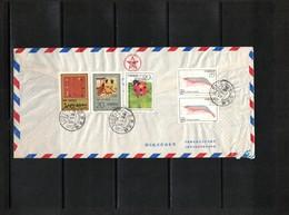 China 1997 Interesting Airmail Letter - 1949 - ... République Populaire