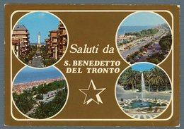°°° Cartolina - Saluti Da S. Benedetto Del Tronto Vedute Nuova °°° - Ascoli Piceno