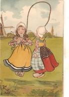 """Gitls.skiping"" Tuck Little Hollander Series PC # 1391 - Tuck, Raphael"