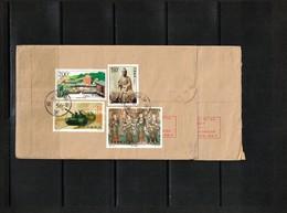 China 1999 Interesting Registered Letter - 1949 - ... République Populaire