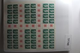 DDR MHB 11 ** Postfrisch Markenheftchenbogen #TF748 - Carnets