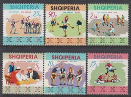 Albania 1972 - People's Sport Festival, Mi-Nr. 1570/75, MNH** - Albania