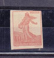 FRANCE NON EMIS DU 134 SEMEUSE AVEC SOL - 1906-38 Semeuse Con Cameo