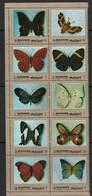 MANAMA - N°1117/26 ** (1972) Papillons - Manama