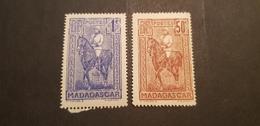 Madagascar Yvert 183-184** - Nuevos