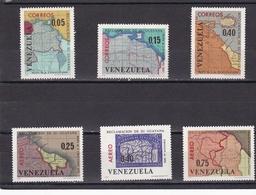 Venezuela Nº 728 Al 730 Y A863 Al A865 - Venezuela