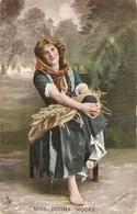 """G.Brugi. Lady With Jug"" Tuck Italian Life Series PC # 4104 - Tuck, Raphael"