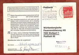 Karte, Brandenburger Tor Berlin, MS Nagold, Nach Stuttgart 1971 (91492) - BRD