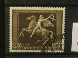 DEUTSCHES REICH 671y GESTEMPELT  A 128 - Alemania