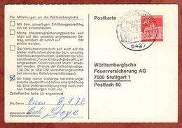 Karte, Brandenburger Tor Berlin, SoSt Bad Salzschlirf, Nach Stuttgart 1972 (91494) - BRD