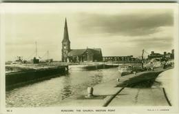 UK - RUNKORS - THE CHURCH - WESTON POINT - PHOTO J.F. LAWRENCE 1940s/50s (BG7823) - Inglaterra
