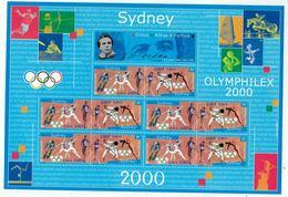 France // Blocs & Feuillet // 2000 // Jeux Olympiques Sydney 2000, Bloc-feuillet Neuf ** MNH No. 31A - Ongebruikt