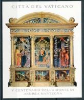 VATIKAN Mi. Nr. Block 27 500. Todestag Von Andrea Mantegna - MNH - Blocs & Feuillets