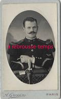 CDV Soldat Du 26e R-photo Grossin à Paris- Bel état - Guerre, Militaire