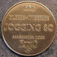 4091 Vz Afbeelding - Kz 1986 Dilbeek-Itterbeek Jogging80 Aangeboden Door Rodeo C&A - Jetons De Communes