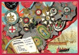 CHROMO (décorations Du) Royaume D'Angleterre ** England Décoration - Artis Historia