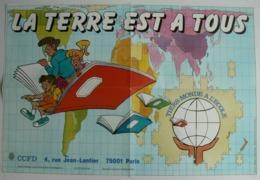 Affiche La Terre Est à Tous, CCFD, Très Bien. - Affiches