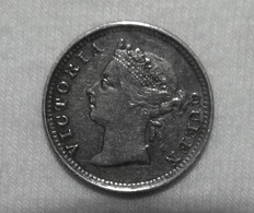 Silber/Silver British Straits Settlements/Malaysia Victoria, 1889, 5 Cents - Kolonien